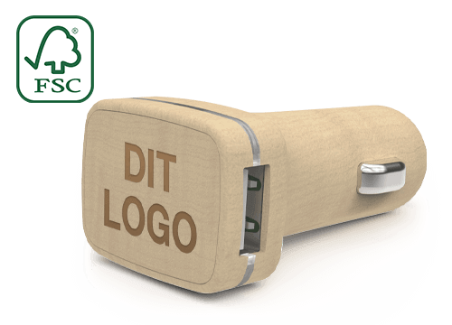 Woodie - Custom USB Car Chargers