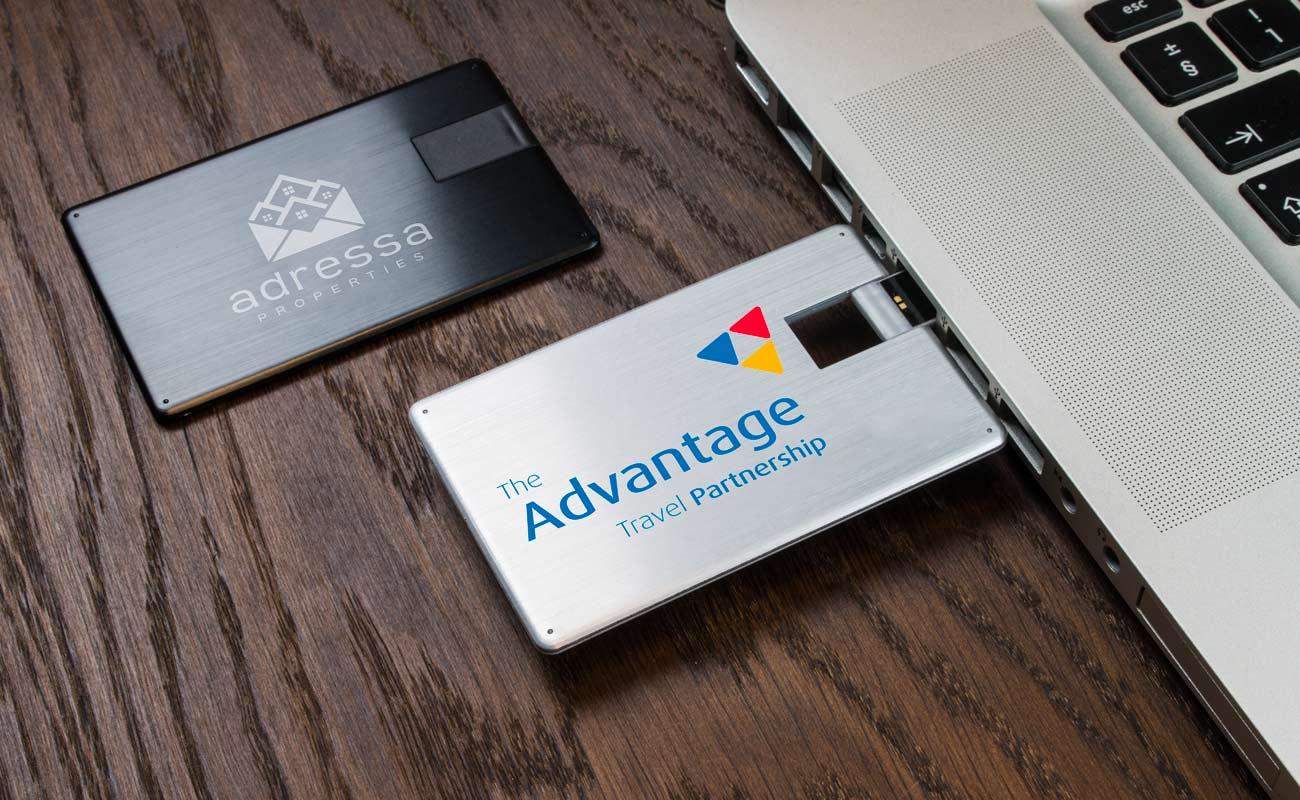 Alloy - USB Visitkort