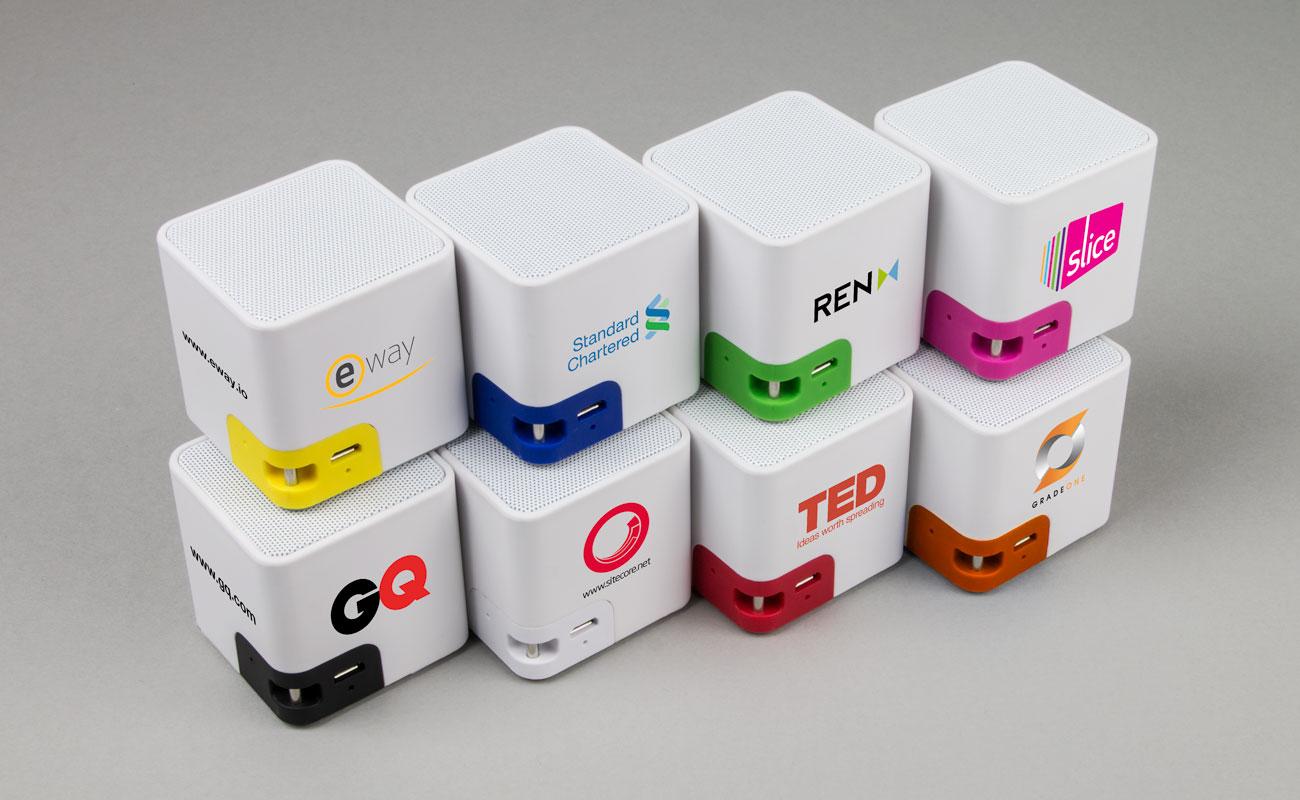 Cube - Højtalere Tryk