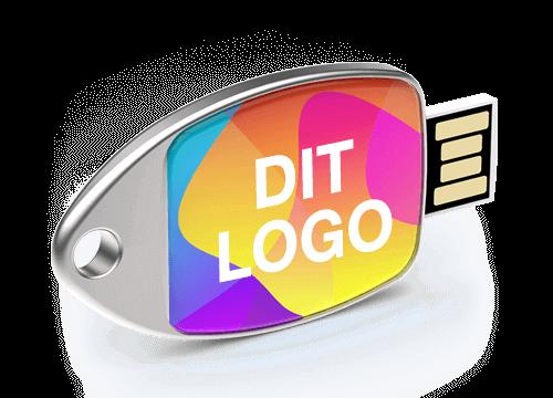 Fin - USB Stick Med Logo