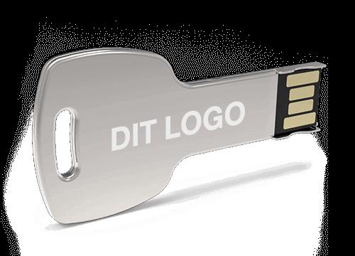Key - USB Stik Med Logo