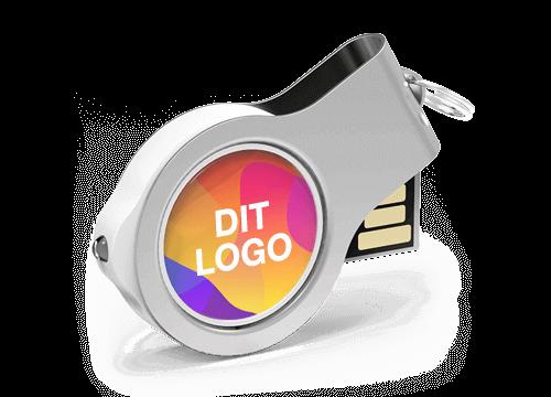 Light - USB Nøgler Med Logo