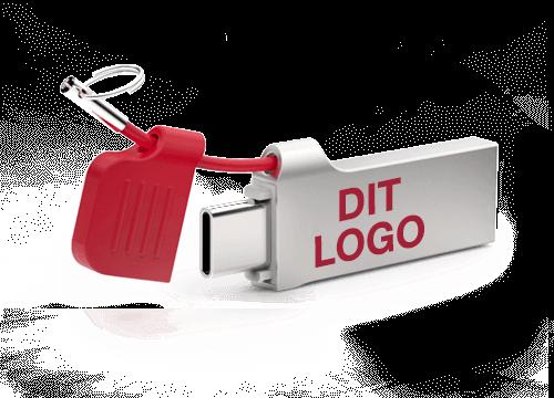 Lynx - USB Stik Med Logo