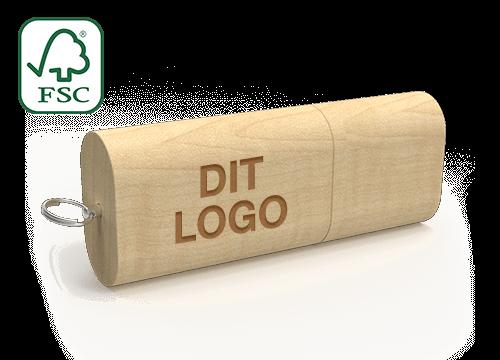 Nature - USB Nøgle Med Logo