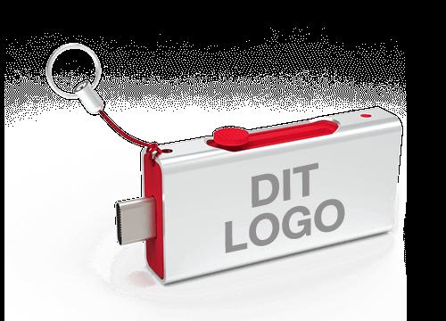 Slide - USB Stick Med Logo