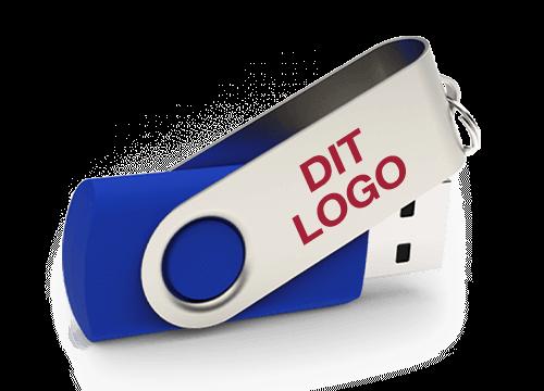 Twister - USB Stik Med Logo