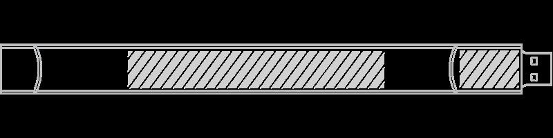 USB armbånd Skærmprintning