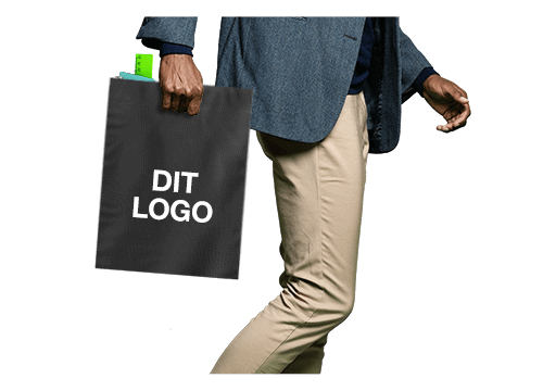 Compact - Non Woven indkøbspose med tryk