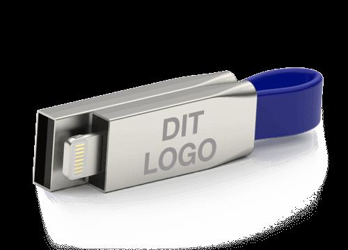 Connex - USB Kabel med Logo Tryk