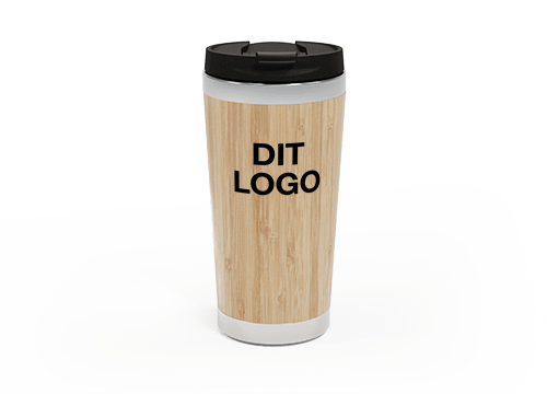 EcoSip - Personalised Bamboo Travel Cup