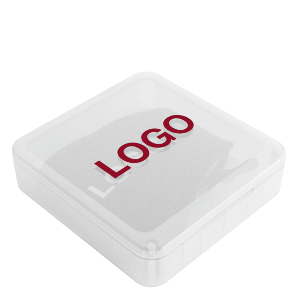 Denim - Mundbind med Logo