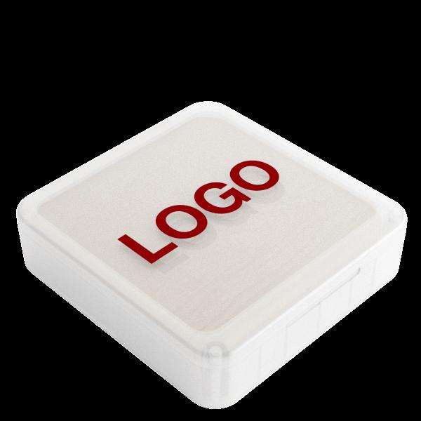 Forest - Trådløs Oplader Med Logo