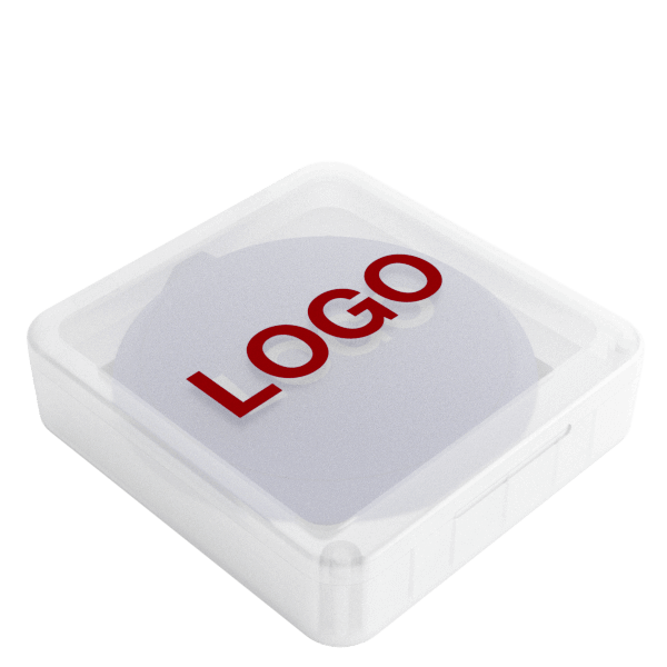 Loop - Trådløs Oplader Med Logo