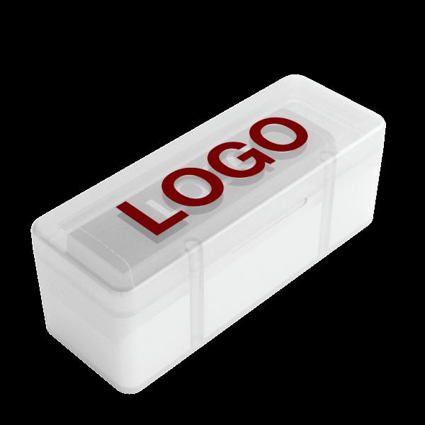 Lux - Powerbank med Logo