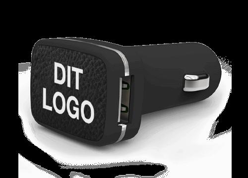 Master - Bil-oplader med logo