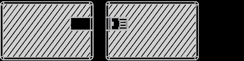 USB kort Silketryk
