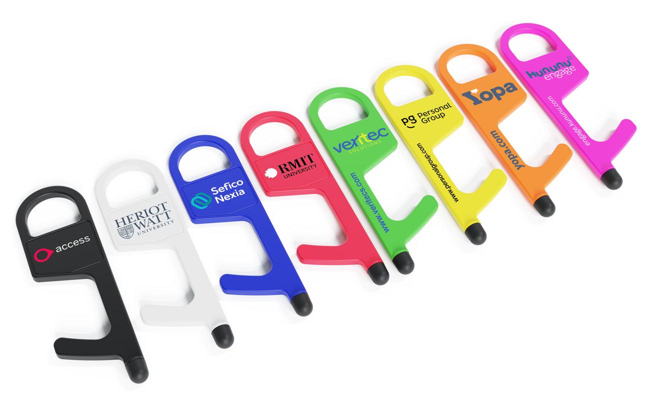 Buddy - Hygiejnenøgle med logo