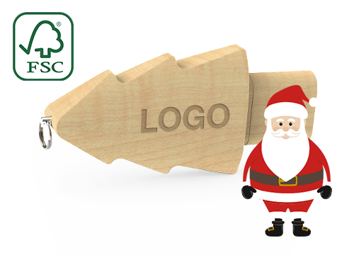 Christmas - USB Med Tryk