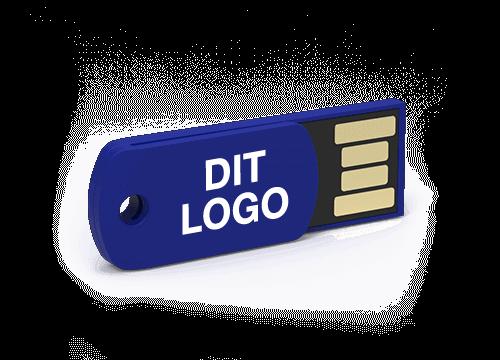 Clip - USB Stick Med Logo