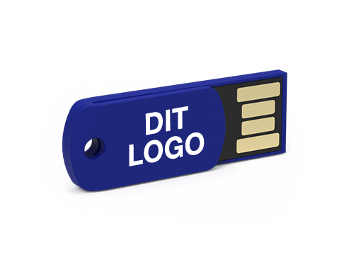 Clip - Personalized Paperclip USB Flash Drives