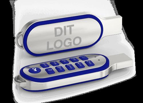 Code - Kryptert minnepinne med logotrykk