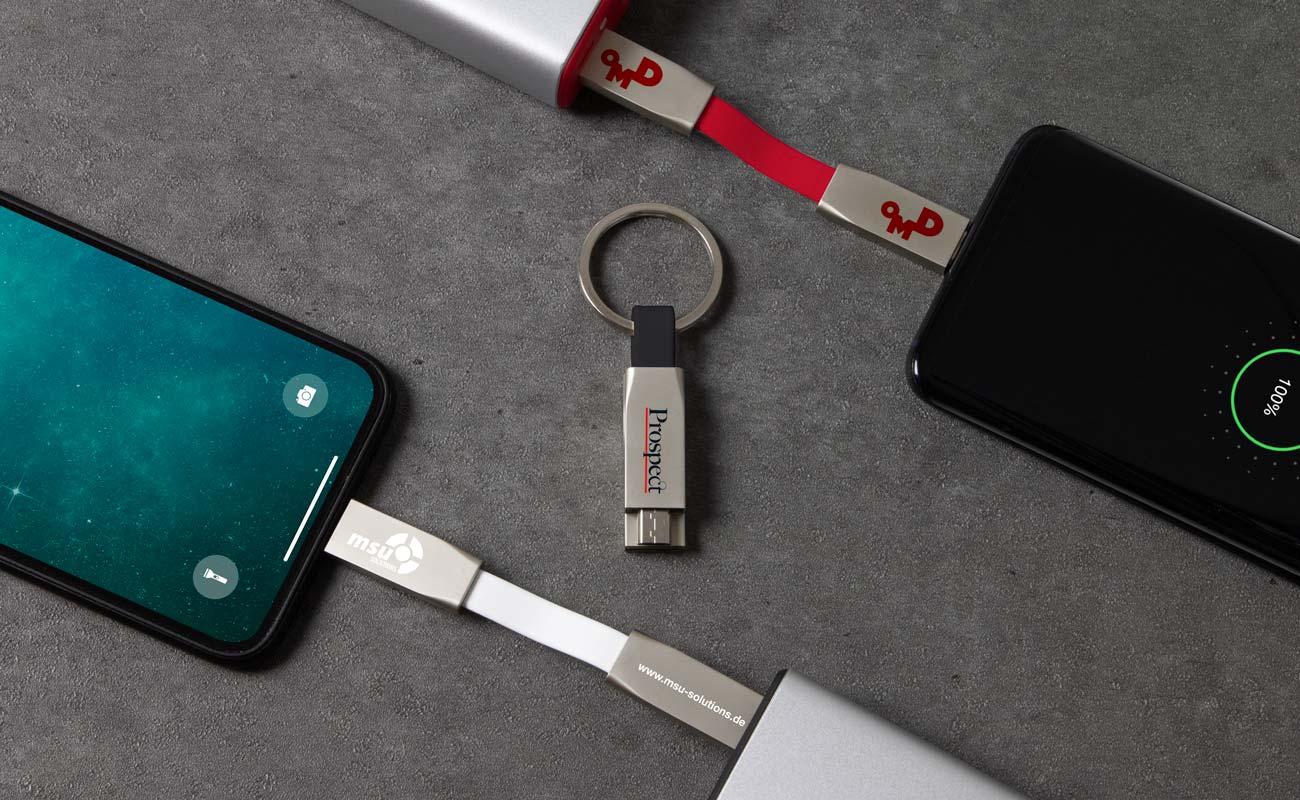 Connex - USB Kabel med Logo