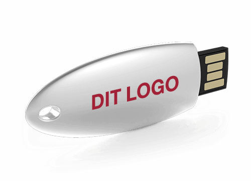 Ellipse - USB Stick Med Logo