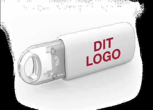 Kinetic - USB Stik Med Tryk