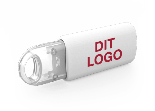 Kinetic - USB Stick Med Logo