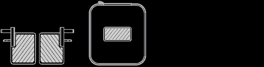 USB Rejseoplader Silketryk