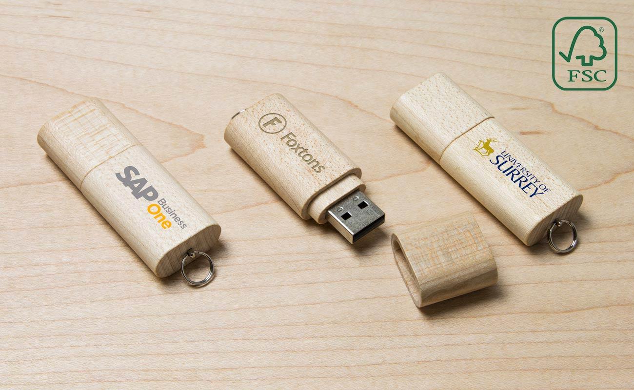 Nature - USB Stik Træ
