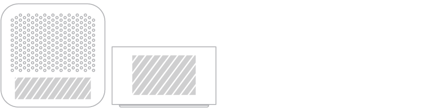Bluetooth® Højtalere Skærmprintning