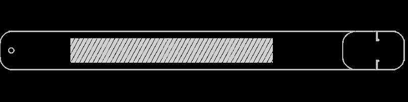 USB armbånd Silketryk