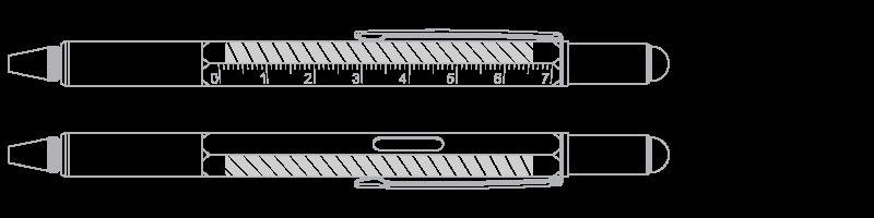 Multiværktøj Silketryk