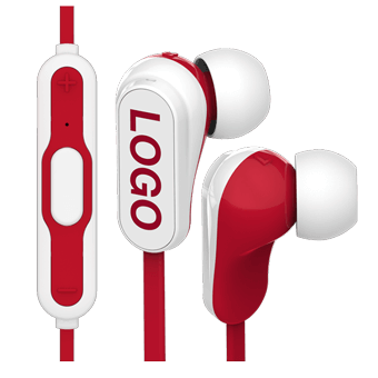 Vibe Bluetooth® - Trådløse Logo Øretelefoner