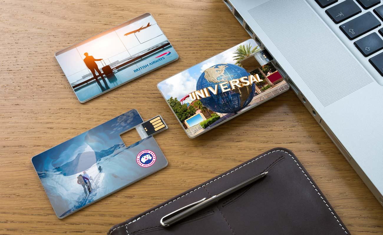 Wafer - USB Visitkort