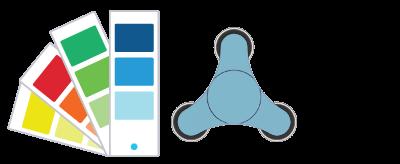 Pantone® Referencer Fidget Spinner