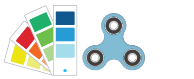 Pantone® Referencer Fidget Spinner
